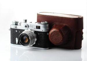 aparat de fotografiat la început