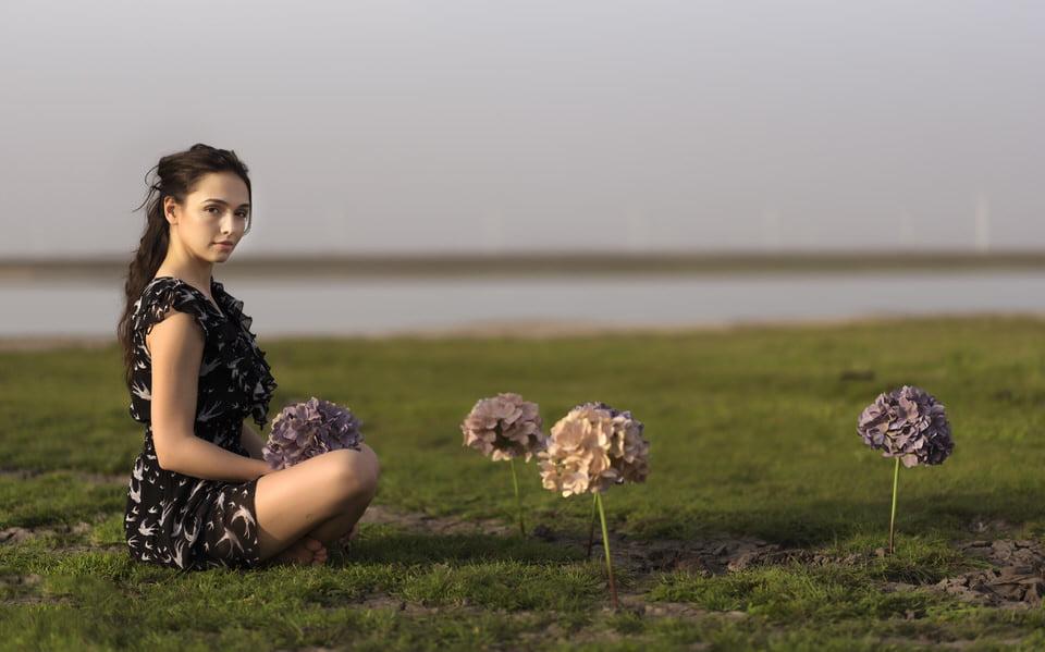 Iulia și fotografia ca premiu